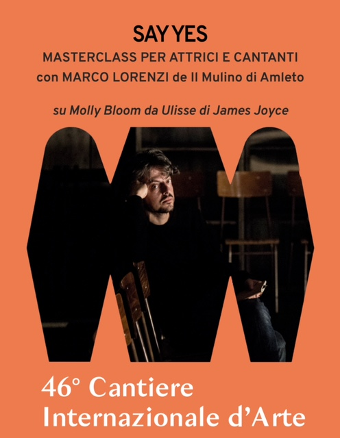 "<font size=""4""><strong> MARCO LORENZI guida la MASTERCLASS ""SAY YES"" | dal 27 al 31 luglio"